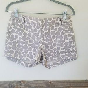 J.Crew Polka Dot Shorts size 2